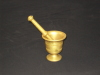Brass Pestle & Mortar 1 Before Polishing